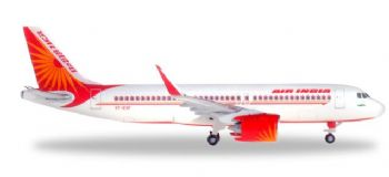Airbus A320 NEO Air India Herpa Diecast Collectors Model Scale 1:500 531177 E
